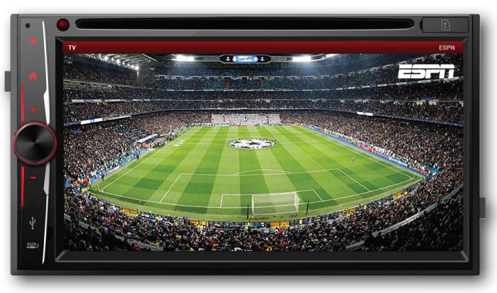 PANTALLA  6.9″ 2 DIN TV – Marca Dynasty