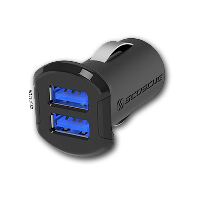 Cargador de Carro 2 USB – Marca Scosche